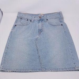 Vintage Levi's Jeans Skirt Size 10